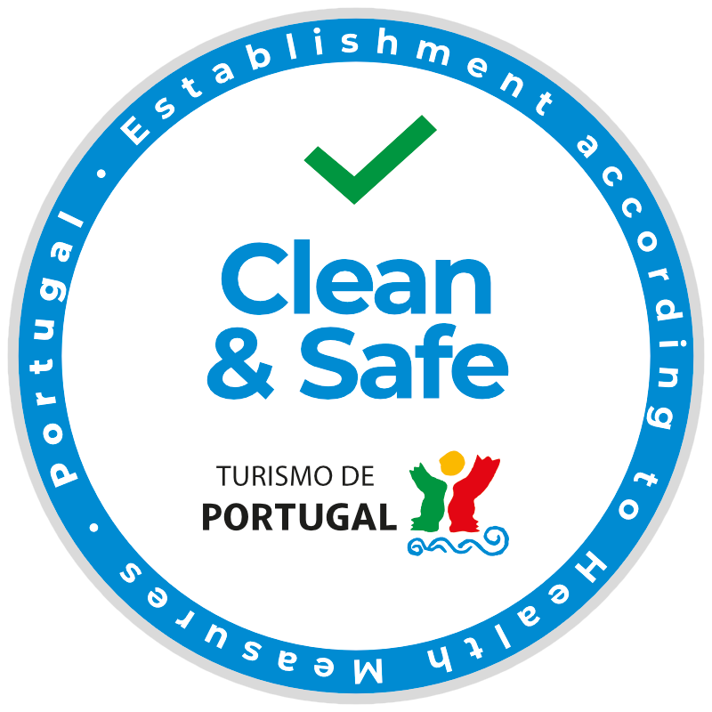 Turismo de Portugal - Clean & Safe seal